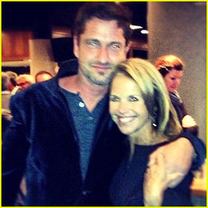 Gerard Butler: Barbra Streisand Concert with Katie Couric!