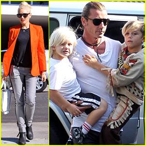 Gwen Stefani & Gavin Rossdale: Petco Stop with Kingston & Zuma!