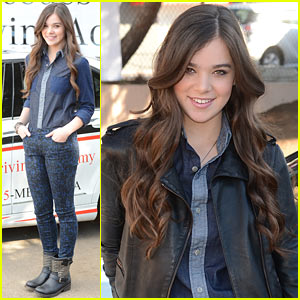 Hailee Steinfeld: National Teen Driver Safety Week Kick-Off!