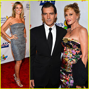 Heidi Klum & Melanie Griffith: Children's Hospital Gala!