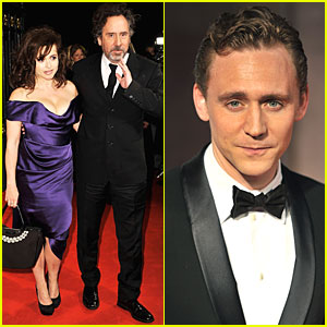 Helena Bonham Carter & Tom Hiddleston: BFI London Film Festival Awards!