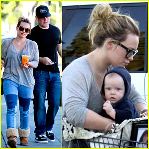 Hilary Duff & Mike Comrie: Food Shopping with Luca!