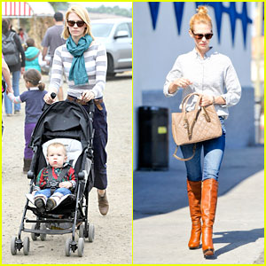 January Jones: Pumpkin Patch with Xander!