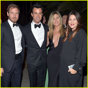 Jennifer Aniston &#038; Justin Theroux: LACMA Gala with Drew Barrymore!