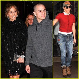 Jennifer Lopez Celebrates Friend's Birthday in Paris