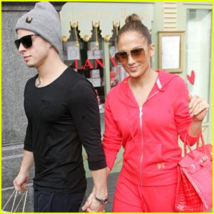 Jennifer Lopez: Harrods Shopping Spree with Casper Smart!