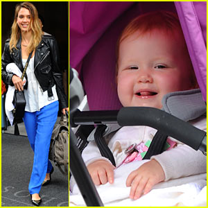 Jessica Alba Hangs with Haven in New York City!