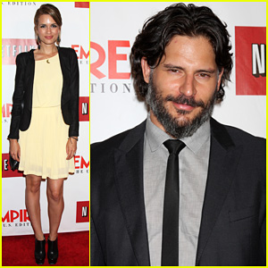 Joe Manganiello: 'Empire' Magazine for iPad Launch Party!