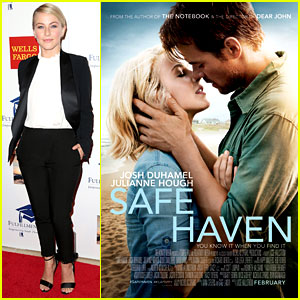 Julianne Hough & Josh Duhamel: 'Safe Haven' Poster!