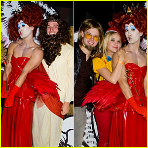Just Jared's Halloween Party 2012 - RECAP