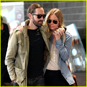 Kate Bosworth & Michael Polish: New Orleans for 'Homefront'!