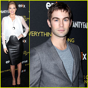 Kate Upton & Chace Crawford: James Bond Celebration!