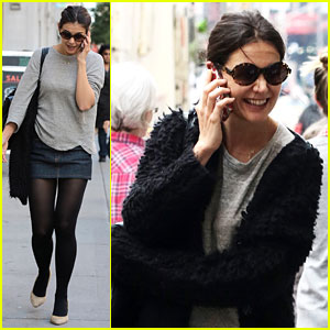 Katie Holmes: Whole Foods Grocery Run!