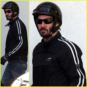 Keanu Reeves is A Biker Dude!