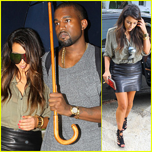 Kim Kardashian & Kanye West: House Hunting in Miami!