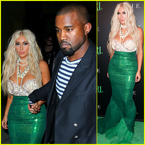 Kim Kardashian & Kanye West: Mermaid & Sailor for Halloween!