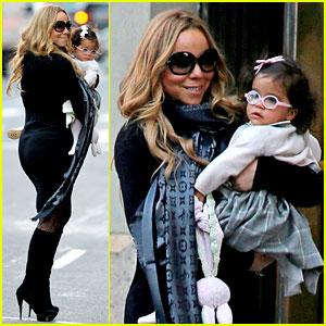 Mariah Carey & Monroe: Tribeca Twosome!