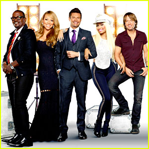 Nicki Minaj & Mariah Carey: New 'American Idol' Promo Pic!