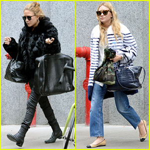 Mary-Kate & Ashley Olsen: SoHo Shoppers!