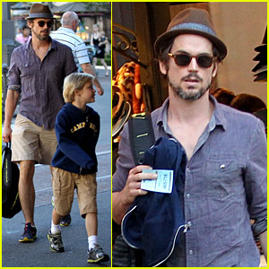 Matt Bomer: 'Hotel Transylvania' with the Boys!