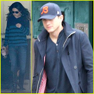 Mila Kunis & Ashton Kutcher: Musso & Frank Grill Lunch!