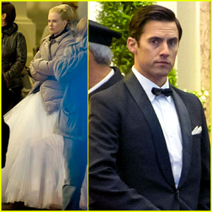 Nicole Kidman: 'Grace of Monaco' Set with Milo Ventimiglia!