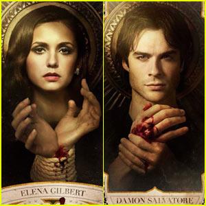 Nina Dobrev & Ian Somerhalder: New 'Vampire Diaries' Posters!