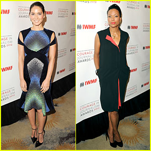 Olivia Munn & Aisha Tyler: Courage in Journalism Awards!