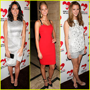 Olivia Munn & Erin Heatherton: God's Love We Deliver Gala!
