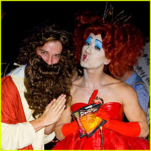Patrick Schwarzenegger - Just Jared Halloween Party 2012