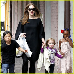 Pax & Zahara Jolie-Pitt Join Mom Angelina Jolie's 'Maleficent'?