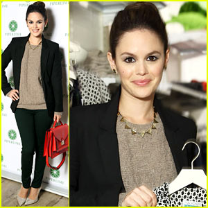 Rachel Bilson: Piperlime's Best Fashion Friends Kick Off!