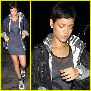 Rihanna: 'Unapolegetic' Studio Session!