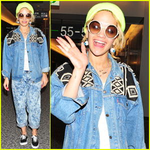 Rita Ora: Sayonara, Japan!