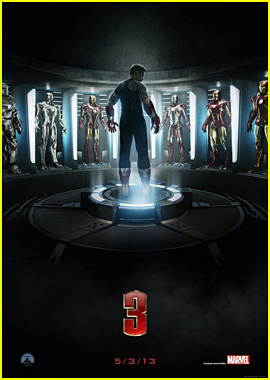Robert Downey Jr: 'Iron Man 3' Teaser Trailer & Poster!