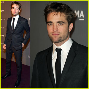 Robert Pattinson - LACMA Art + Film Gala 2012