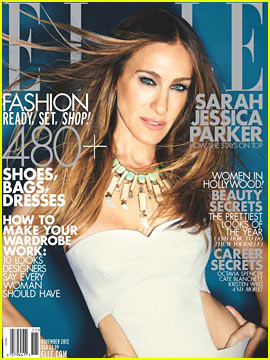 Sarah Jessica Parker Covers 'Elle' November