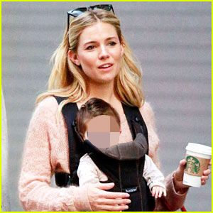 Sienna Miller: Coffee Run with Baby Marlowe!