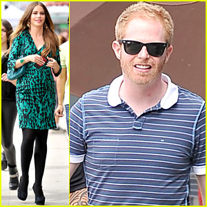Sofia Vergara: 'Modern Family' Set Before Jesse Tyler Ferguson's Birthday Bash!