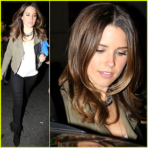 Sophia Bush: Low Profile Sayers Club Departure!