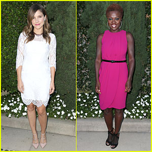 Sophia Bush & Viola Davis: Rape Center Fundraiser!