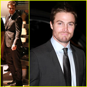 Stephen Amell: 'Arrow' Night Scenes!