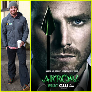 Stephen Amell: New 'Arrow' Poster