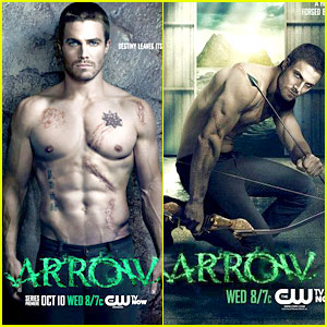 Stephen Amell: New Shirtless 'Arrow' Posters!