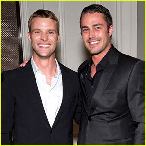Taylor Kinney & Jesse Spencer: 'Chicago Fire' Premiere!