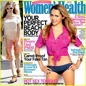 Teresa Palmer Covers 'Women's Health Australia'