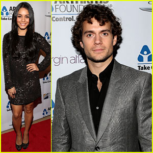 Vanessa Hudgens & Henry Cavill: Arthritis Foundation Gala!