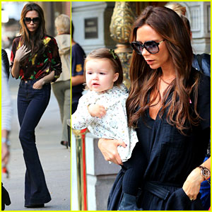 Victoria Beckham Won't Care if Harper is a Tomboy