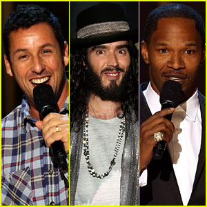 Adam Sandler & Russell Brand: 'Eddie Murphy: One Night Only' Special!