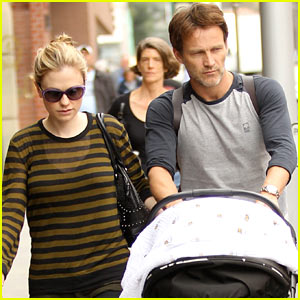 Anna Paquin & Stephen Moyer: Doctor's Appointment with the Twins!